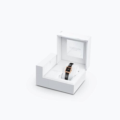 Женские золотые часы (232.01.00.100.04.01.2) - фото №4