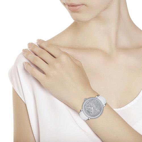 Женские серебряные часы (130.30.00.001.06.02.2) - фото №3