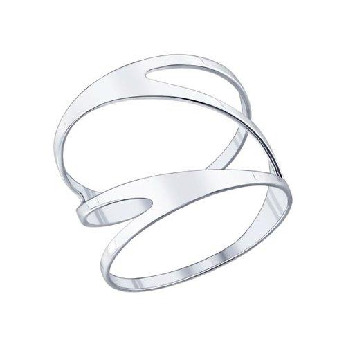 Кольцо из серебра (94011553) - фото