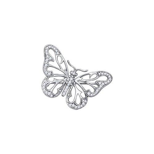 Брошь - бабочка SOKOLOV
