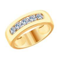 Кольцо из золота с бриллиантами