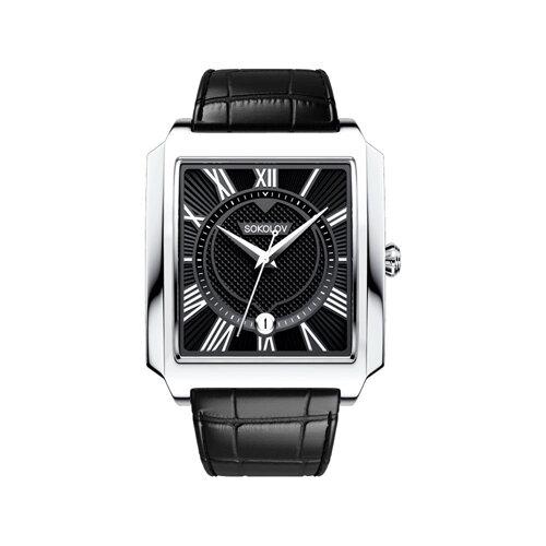 Мужские серебряные часы (134.30.00.000.02.01.3) - фото №2