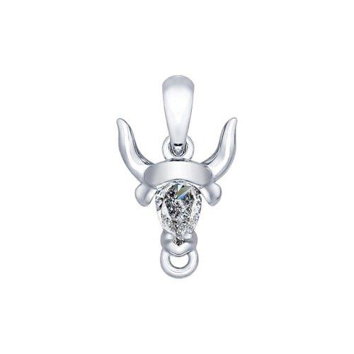 Кулон SOKOLOV из серебра «Знак зодиака Телец»