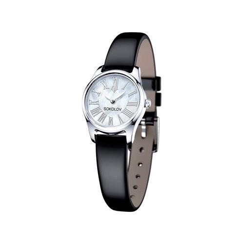 лучшая цена Женские серебряные часы SOKOLOV