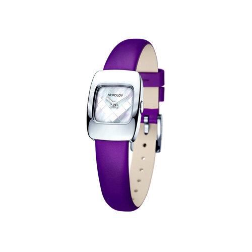Женские серебряные часы (124.30.00.000.05.06.2) - фото