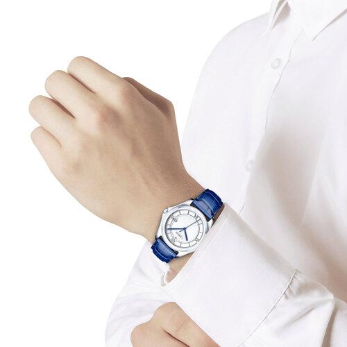 Мужские серебряные часы (135.30.00.000.01.02.3) - фото №3