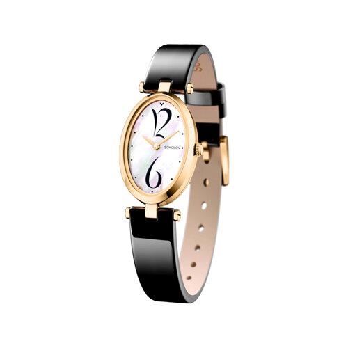 Женские золотые часы (235.02.00.000.05.04.2) - фото
