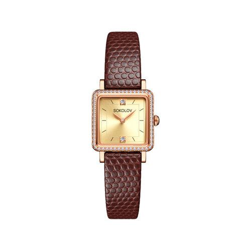 Женские золотые часы (232.01.00.100.06.07.2) - фото №2