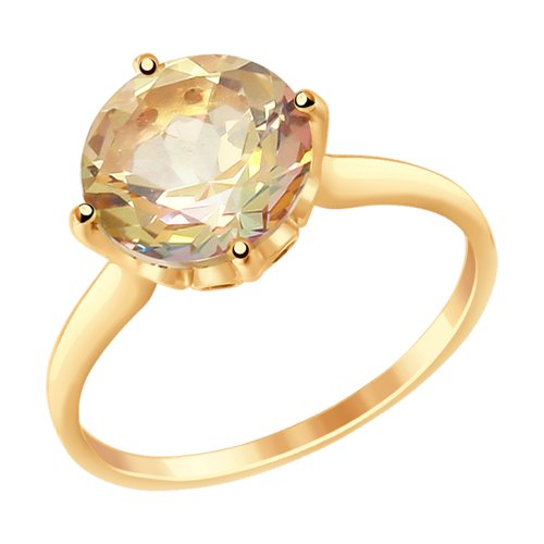 Кольцо из золота (714915) - фото