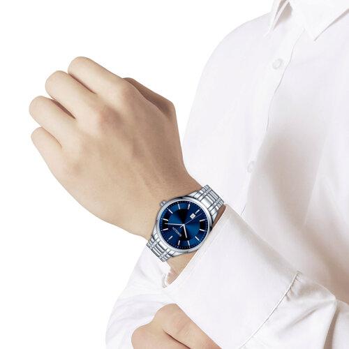 Мужские стальные часы (312.71.00.000.02.01.3) - фото №3