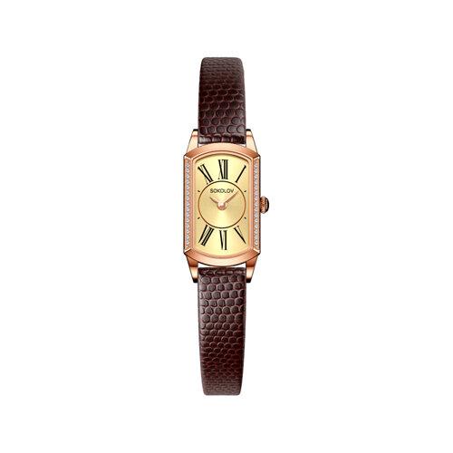 Женские золотые часы (222.01.00.001.02.03.3) - фото №2