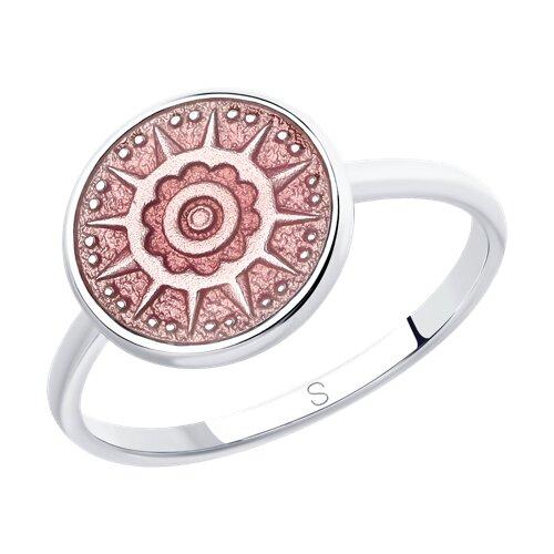 Кольцо SOKOLOV из серебра с эмалью тридерм купить цена