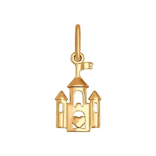 Подвеска «Золотой замок» SOKOLOV констан геру замок шамбла