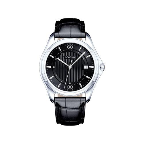 Мужские серебряные часы (135.30.00.000.06.01.3) - фото №2