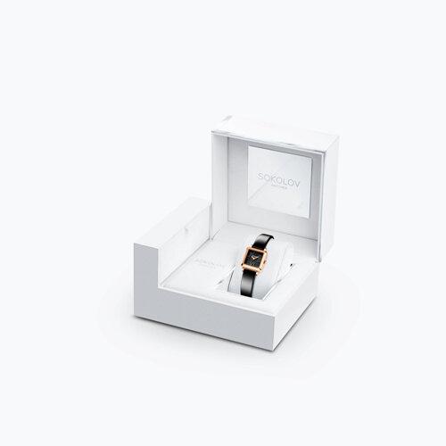 Женские золотые часы (231.01.00.000.02.04.2) - фото №4