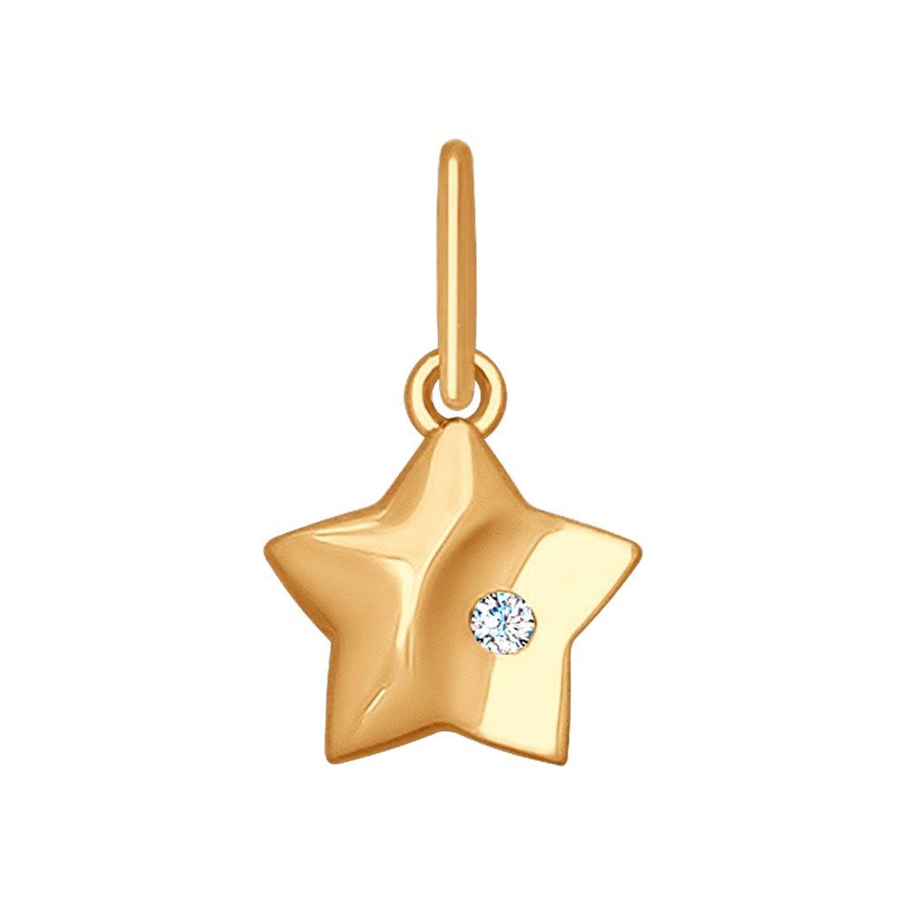 Подвеска «Звёздочка» SOKOLOV из золота