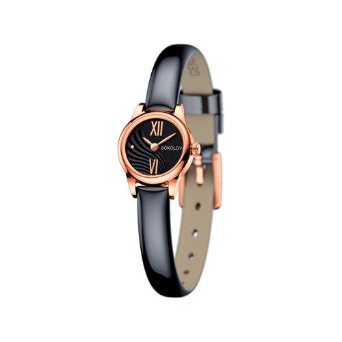 Женские золотые часы (211.01.00.000.05.05.3) - фото
