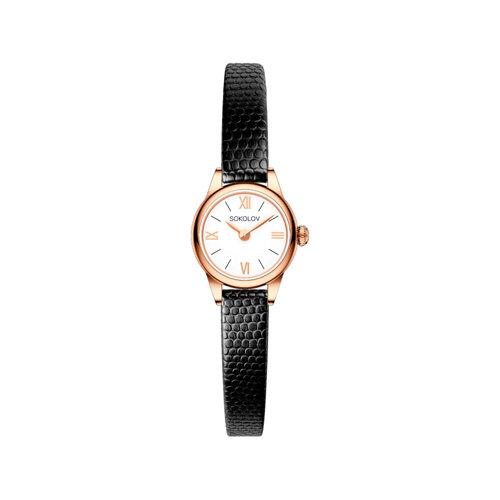 Женские золотые часы (211.01.00.000.01.01.3) - фото №2