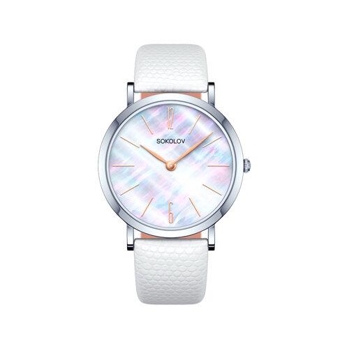 Женские серебряные часы (152.30.00.000.06.02.2) - фото №2