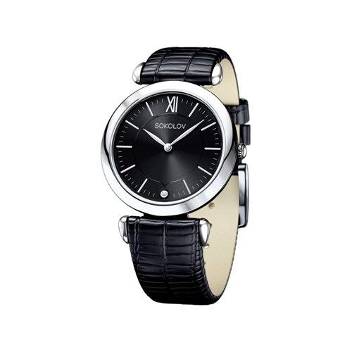 Женские серебряные часы (105.30.00.000.02.01.2) - фото