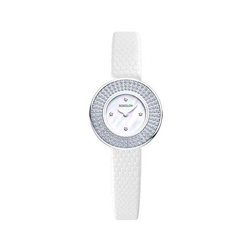Женские серебряные часы (128.30.00.001.01.01.2) - фото №2
