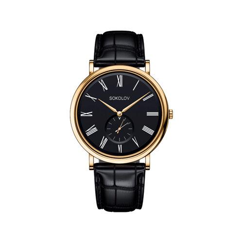 Мужские золотые часы (209.02.00.000.02.01.3) - фото №2