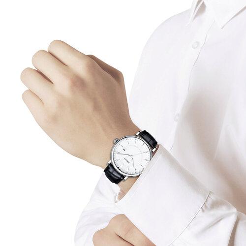Мужские серебряные часы (101.30.00.000.06.01.3) - фото №3