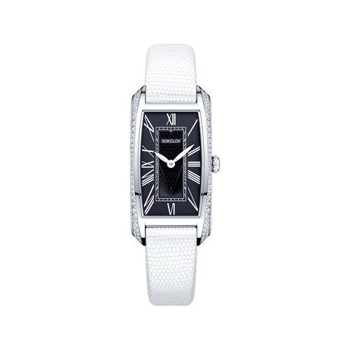 Женские серебряные часы (119.30.00.001.02.02.2) - фото №2
