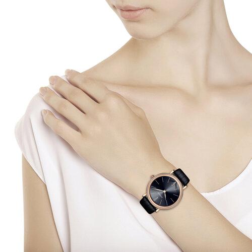Женские золотые часы (210.01.00.100.08.01.2) - фото №3