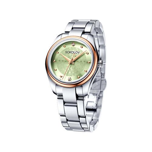 цена на Женские часы из золота и стали