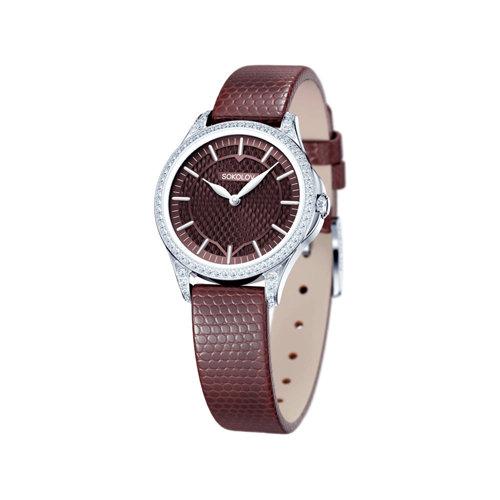 Женские серебряные часы (137.30.00.001.08.05.2) - фото