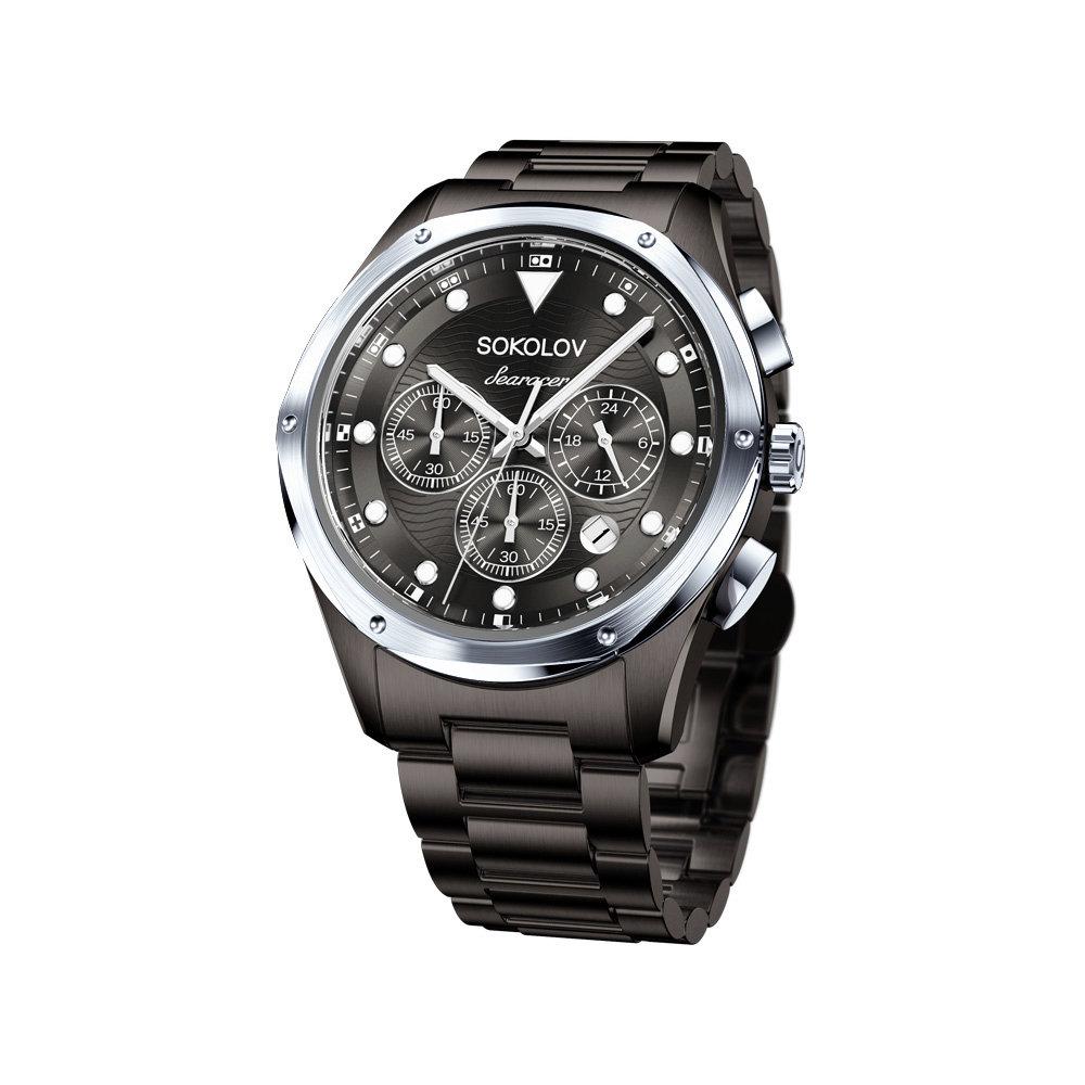Фото - Мужские стальные часы SOKOLOV мужские часы sokolov 134 30 00 000 08 02 3