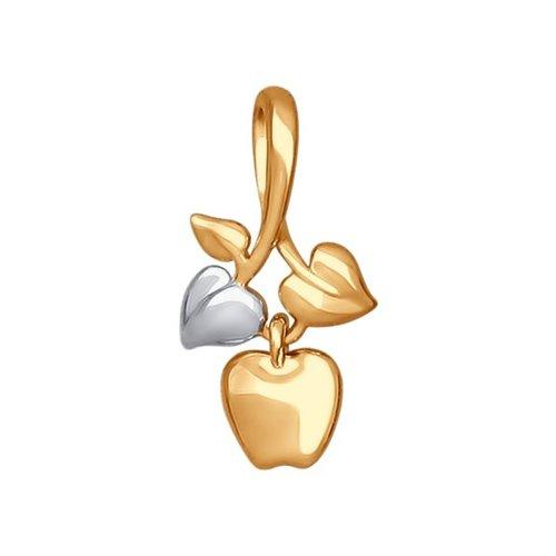 Золотая подвеска «Яблоко» SOKOLOV