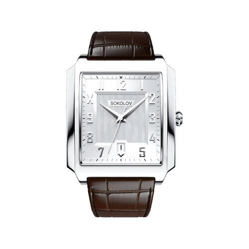 Мужские серебряные часы (134.30.00.000.03.03.3) - фото №2