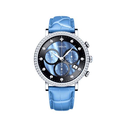 Женские серебряные часы (127.30.00.001.04.05.2) - фото №2
