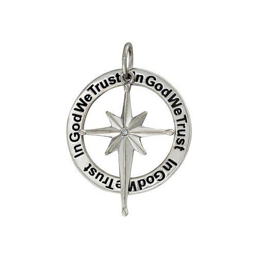 Подвеска SOKOLOV из серебра «In god we trust» indust we trust свитер