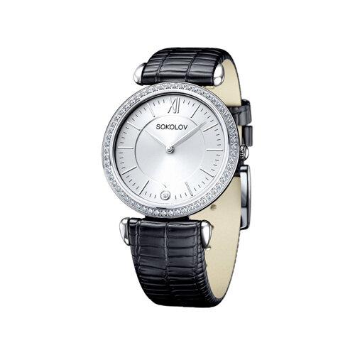 Женские серебряные часы (106.30.00.001.01.01.2) - фото