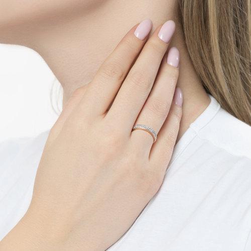Кольцо из золота с бриллиантами 1011798 SOKOLOV фото 3