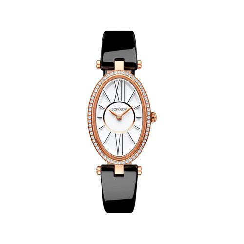 Женские золотые часы (236.01.00.100.01.04.2) - фото №2