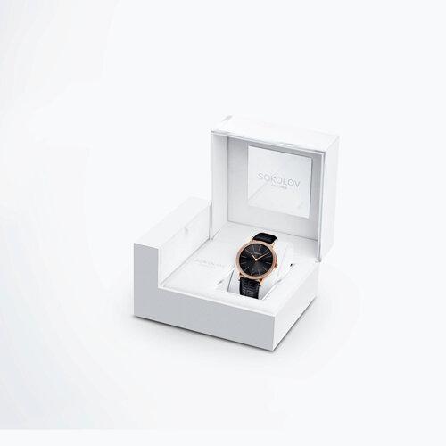 Женские золотые часы (210.01.00.100.08.01.2) - фото №4