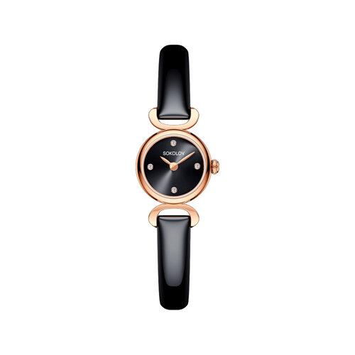 Женские золотые часы (212.01.00.000.03.05.3) - фото №2