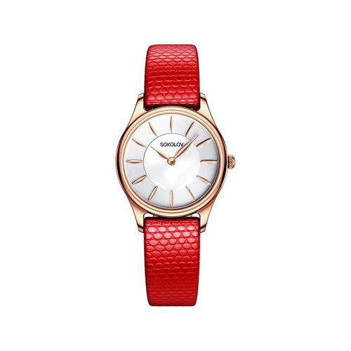 Женские золотые часы (238.01.00.000.04.03.2) - фото №2