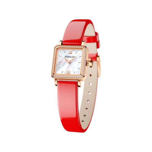 Женские золотые часы (232.01.00.100.05.06.2) - фото