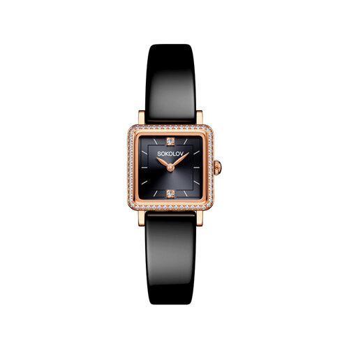 Женские золотые часы (232.01.00.001.07.04.2) - фото №2