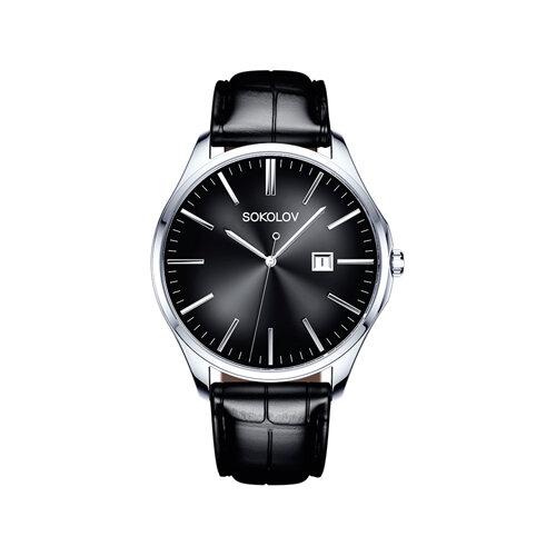 Мужские серебряные часы (154.30.00.000.03.01.3) - фото №2
