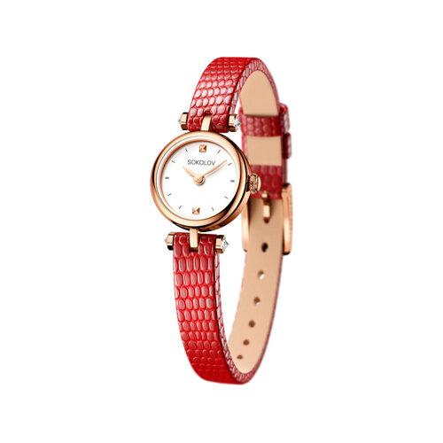Женские золотые часы (215.01.00.000.01.03.2) - фото