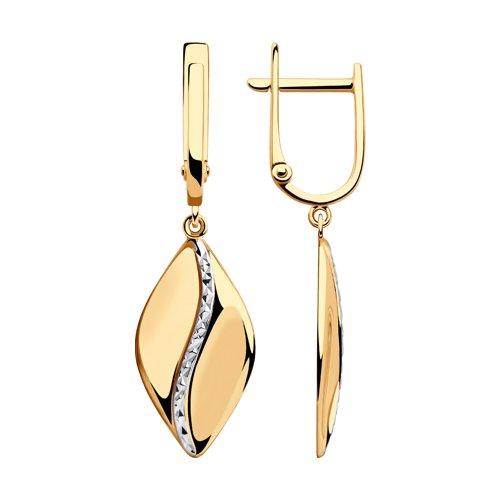 Серьги из золота (028381) - фото