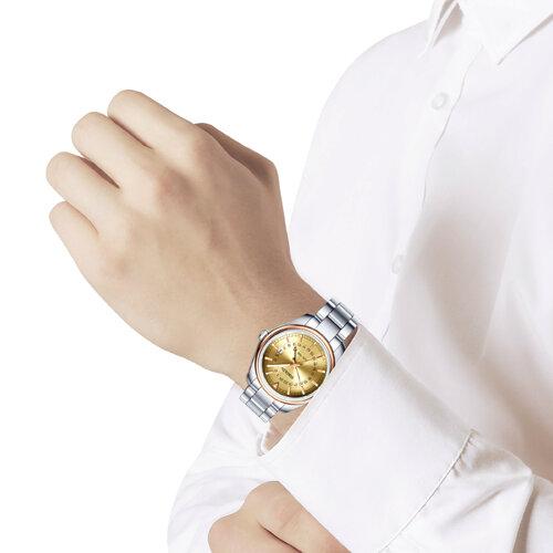 Мужские часы из золота и стали (157.01.71.000.02.01.3) - фото №3