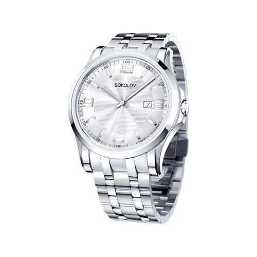 Мужские стальные часы  (301.71.00.000.01.01.3) - фото