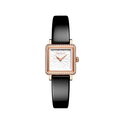 Женские золотые часы (232.01.00.001.03.04.2) - фото №2